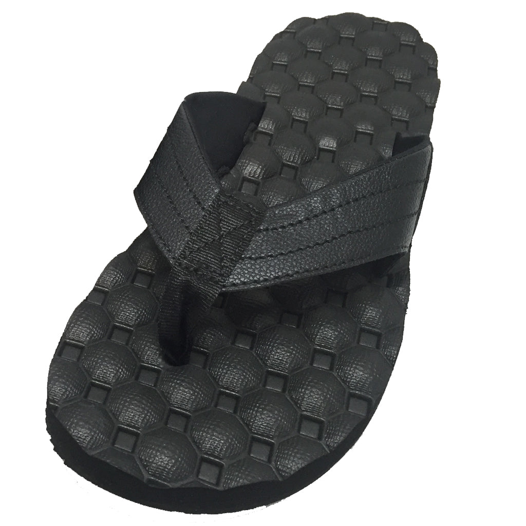 Rainbow Sandals Mens  Holoholo - Black - Seaside Surf Shop