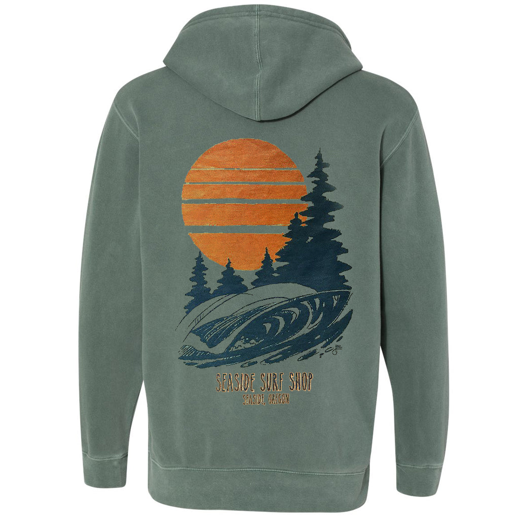 Seaside Surf Shop Mens Northwest Pullover Hoodie - Alpine - Seaside Surf Shop