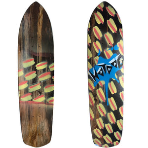 "Hot Dog Skateboards Marching Dreams - 33"", Skate, Hot Dog, 8.75, Hot Dog, Hot Dog Skateboards Marching Dreams. Locally Crafted in NW. 33""x 8.75 Deck"