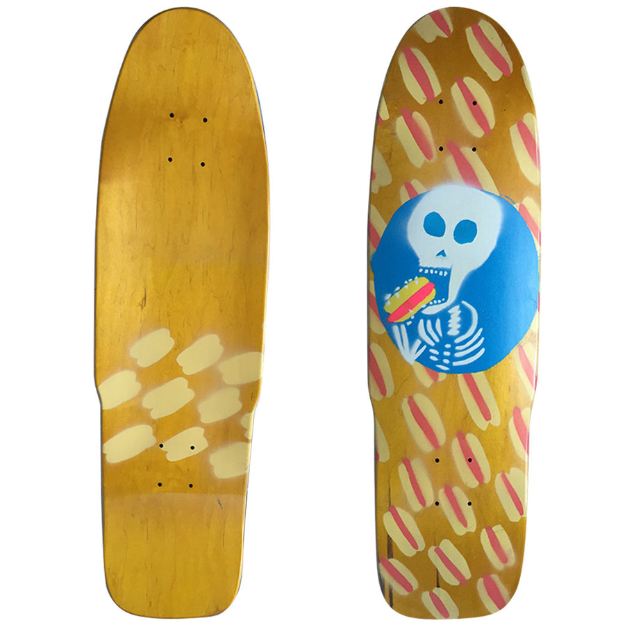 "'-Skate-Hot Dog Skateboards Skull Dog - 30.25""-Hot Dog-Seaside Surf Shop"