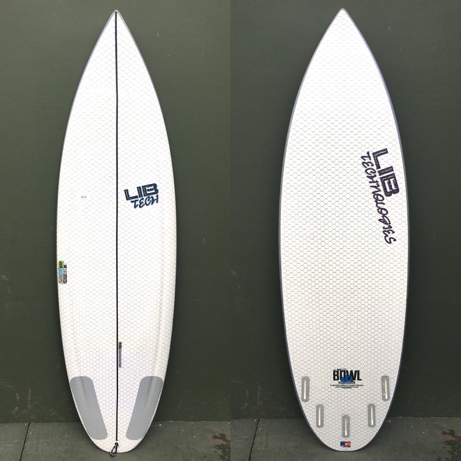 "USED Lib Tech Surfboards - 6'0"" Bowl Surfboard"