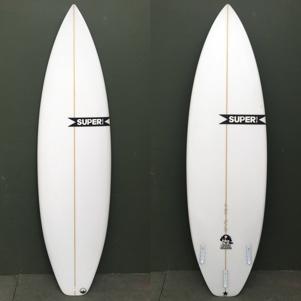 "-Surfboard-Superbrand Surfboards - 6'0"" Masta Blasta Surfboard-Superbrand Surfboards-Seaside Surf Shop"