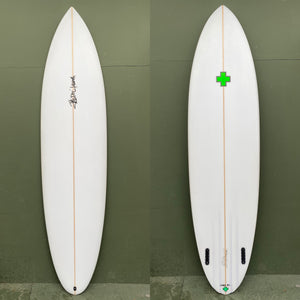 "Surf Prescriptions Surfboards - 7'6"" Tur-Twin Pin Surfboard"