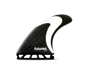 Futures Fins Solus HC Tri-Fin Set - Carbon/Black/White