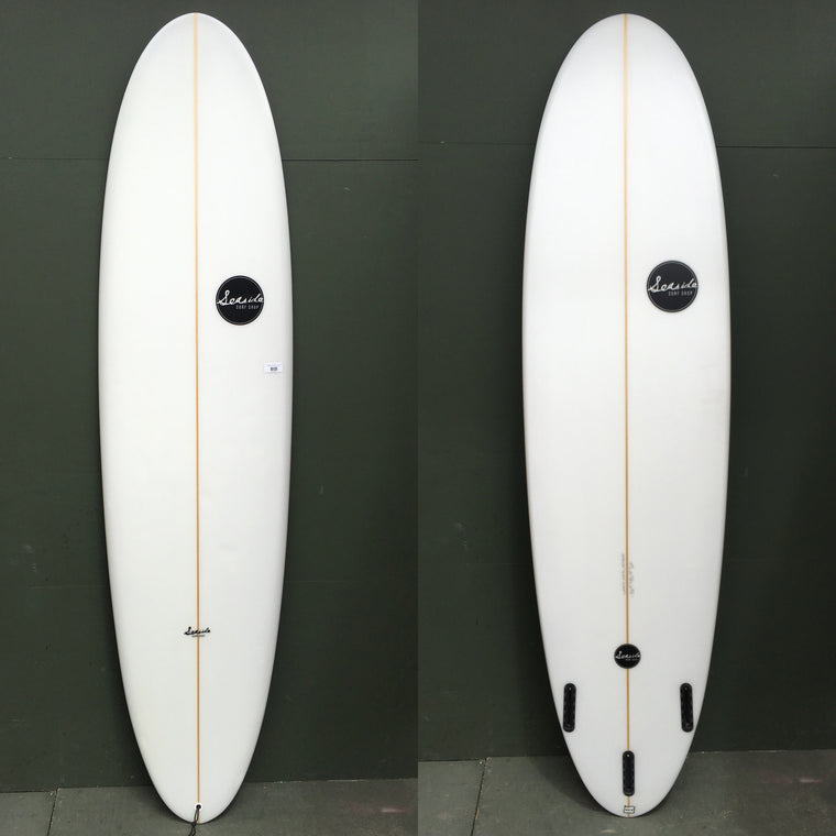 "-Used Surfboards-USED Seaside Surf Shop Surfboards - 7'4"" Egg Surfboard-Used Surfboards-Seaside Surf Shop"