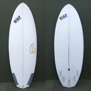 "-Used Surfboards-Colt Surfboards Rocketship - 5'7"" Surfboard-Used Surfboards-Seaside Surf Shop"