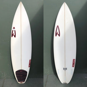 "Used Roberts Surfboards - 5'11"" Black Punt Surfboard"