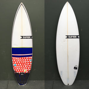 "USED Superbrand Surfboards - 5'10"" Head Shifter Surfboard"