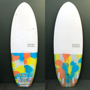 "Used Panda Surfboards - 5'6"" The Doinker Surfboard-Used Surfboards-Seaside Surf Shop"