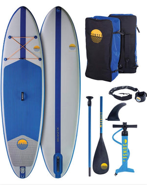 "NSP Surfboards -10'4"" Sunset Fun Allrounder"
