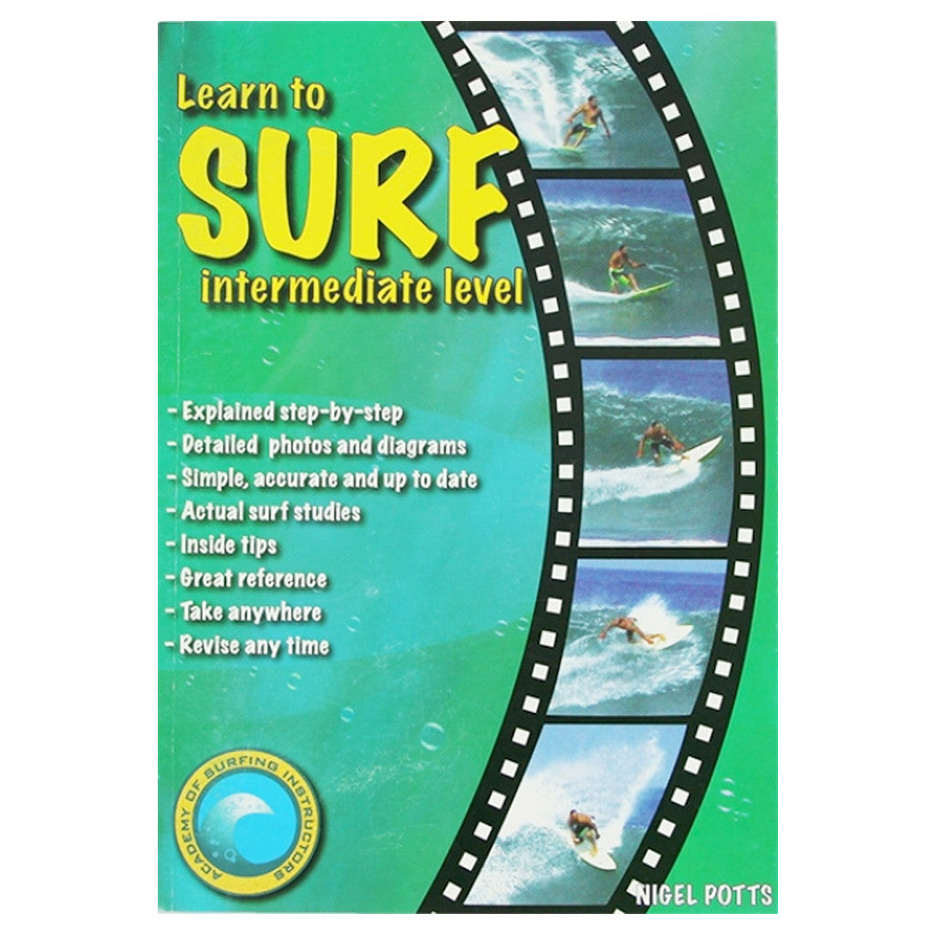 -Books-Learn to Surf - Intermediate Level-Academy of Surfing Instructors-Seaside Surf Shop