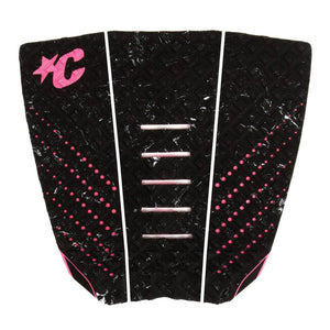 Creatures Jack Freestone Signature Traction Pad - Black Mix Pink-Creatures of Leisure-Seaside Surf Shop
