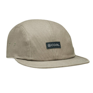 Coal Mens The Jerome 4 Panel Low Profile Cap - Khaki