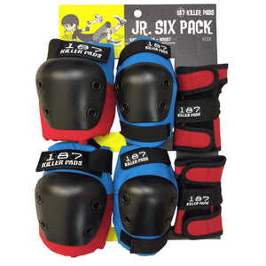 187 Killer Pads Jr Six Pack