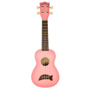 Kala Makala Dolphin Ukulele - Pink, Musical Instruments, Kala, Musical Instruments, These Soprano-size ukulele are widely popular all over the world. They come in many vibrant colors and feature a unique Dolphin bridge with Mahogany neck, Rosewood fingerboard, and quality, geared tuners. This is a fun and exciting ukulele for all ages.