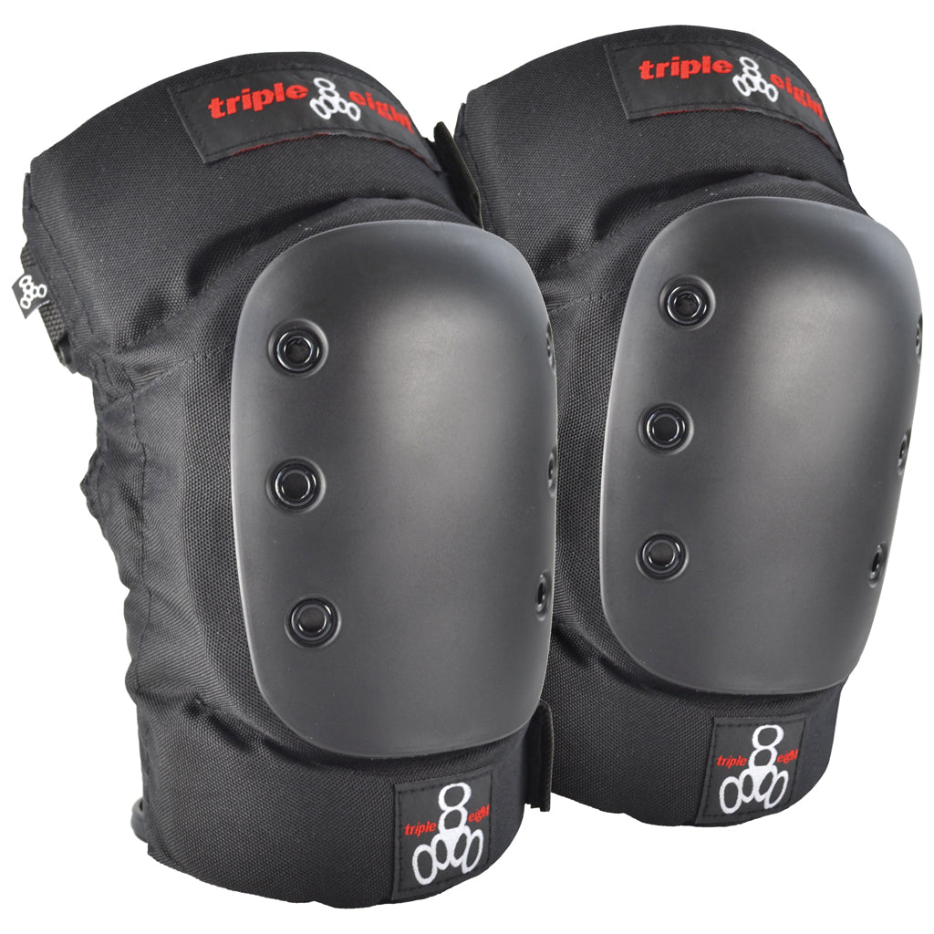 Triple 8 KP 22 Knee Pad Set - Black - Seaside Surf Shop