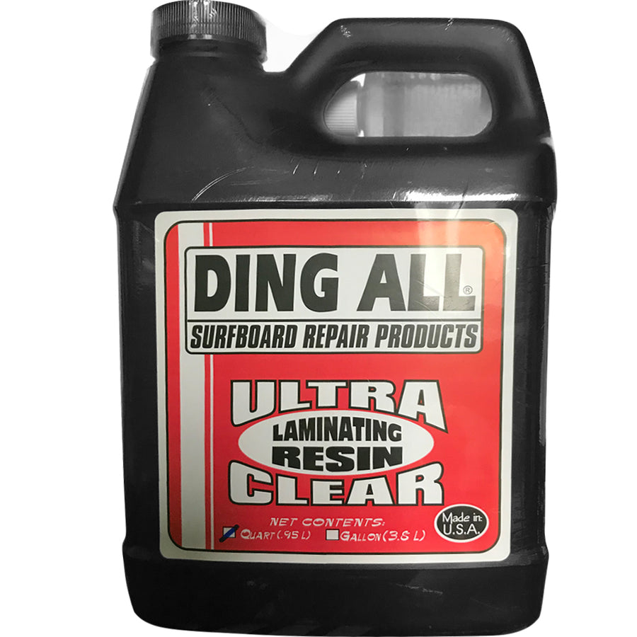 Ding All Ultra Clear Laminating Resin - 1 Quart