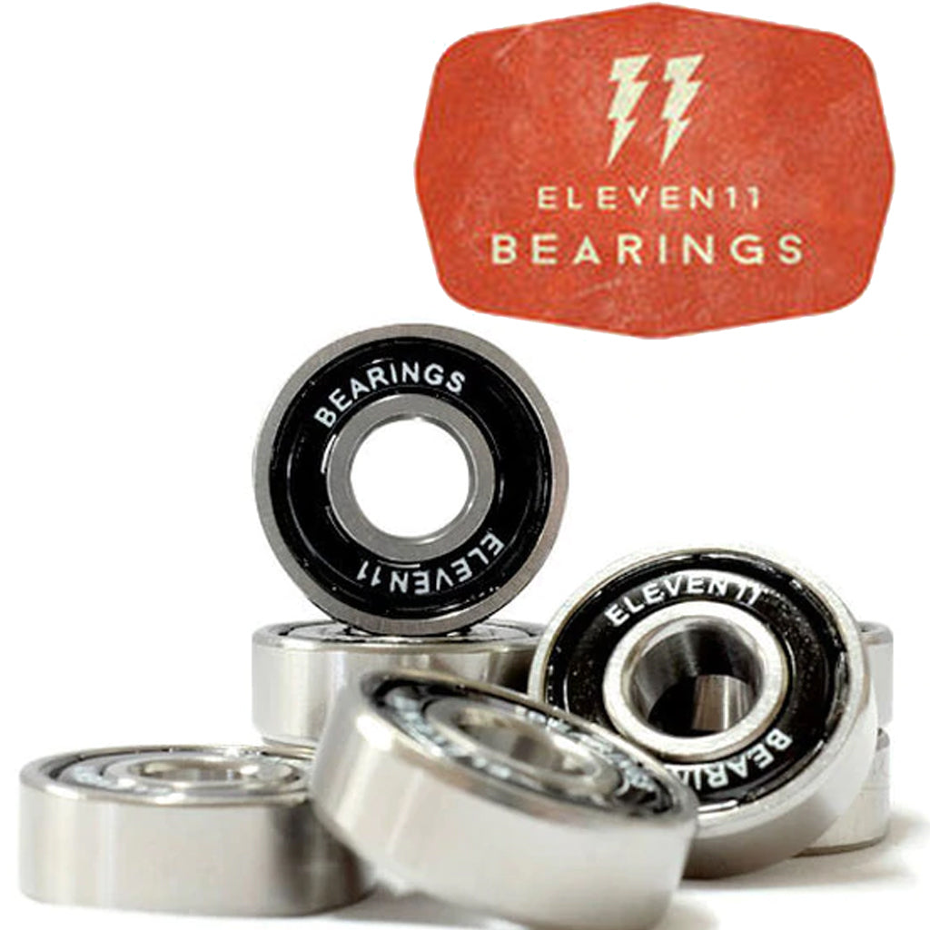 Eleven 11 Skateboard Bearings 8 Piece Set - Seaside Surf Shop