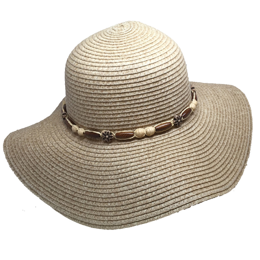4baed3714f -Apparel Accessories-Wetproducts Womens Coco Loco Straw Hat-Wet Products-Seaside  Surf