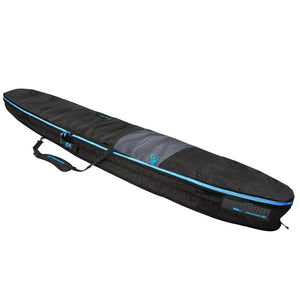 Creatures Longboard Day Use Bag - Charcoal/Cyan, Surf Accessories, Creatures of Leisure, Creatures of Leisure, Creatures Day use Longboard Bag, protect your slider with Creatures excellently designed longboard bag that hosts a ton of features. • 5mm closed cell padding• 600 denier polyester fabric• Heat reflective silver poly fabric• Tough, lockable metal sliders• Zippered fin slot• Padded carry handle• 12 month warranty