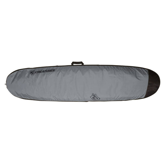 -Surf Accessories-Creatures Longboard Lite Bag - Charcoal/Black-Creatures of Leisure-Seaside Surf Shop
