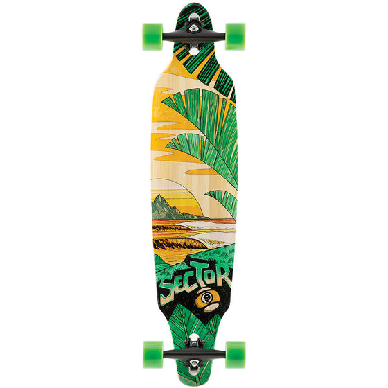 "-Skate-Sector 9 Lookout Complete - 41.25""-Sector 9-Seaside Surf Shop"