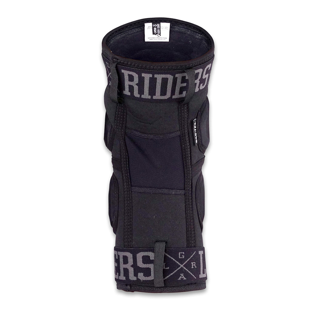 Loose Riders C/S Kneeguards - Black - Seaside Surf Shop