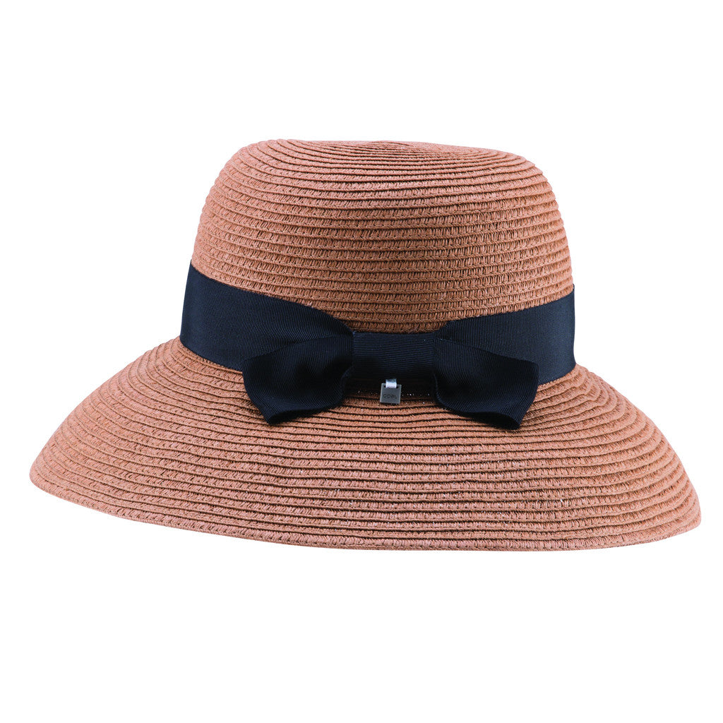 Coal Womens Loretta Straw Hat - Brown