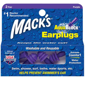 Macks Aquablock Ear Plugs - Seaside Surf Shop