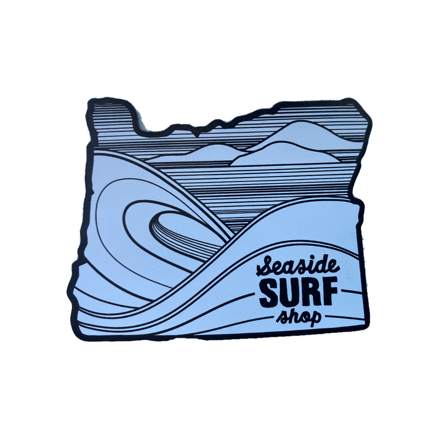 Seaside Surf Shop - Oregon Magnet