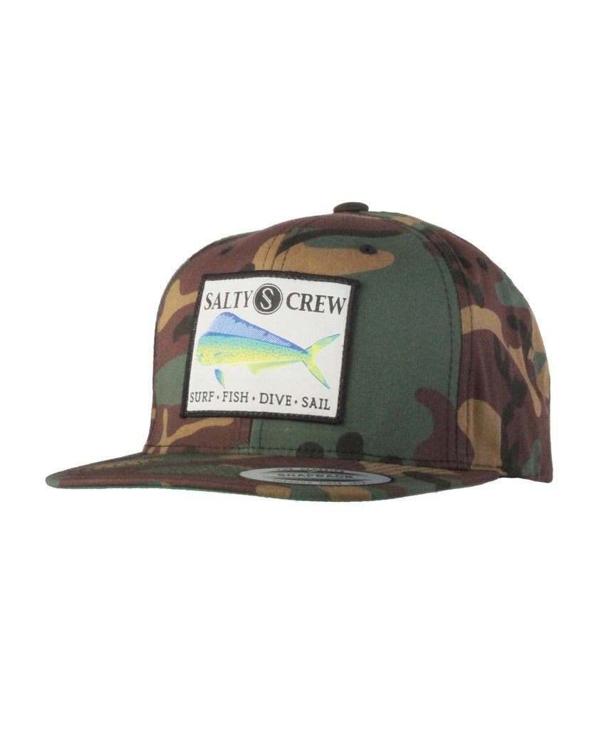 -Apparel Accessories-Salty Crew Mens Mahi Hat - Camo-Salty Crew-Seaside Surf Shop