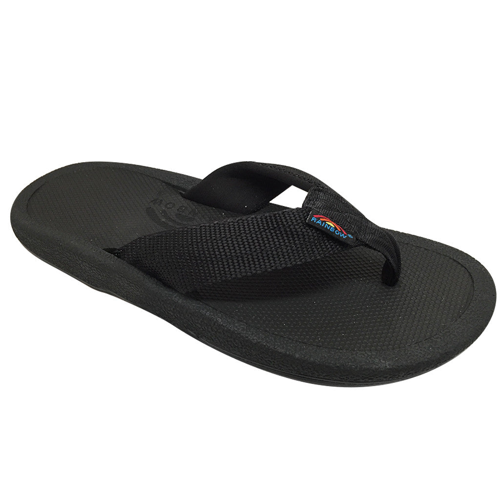Rainbow Sandals Mens  Mariner - Black - Seaside Surf Shop