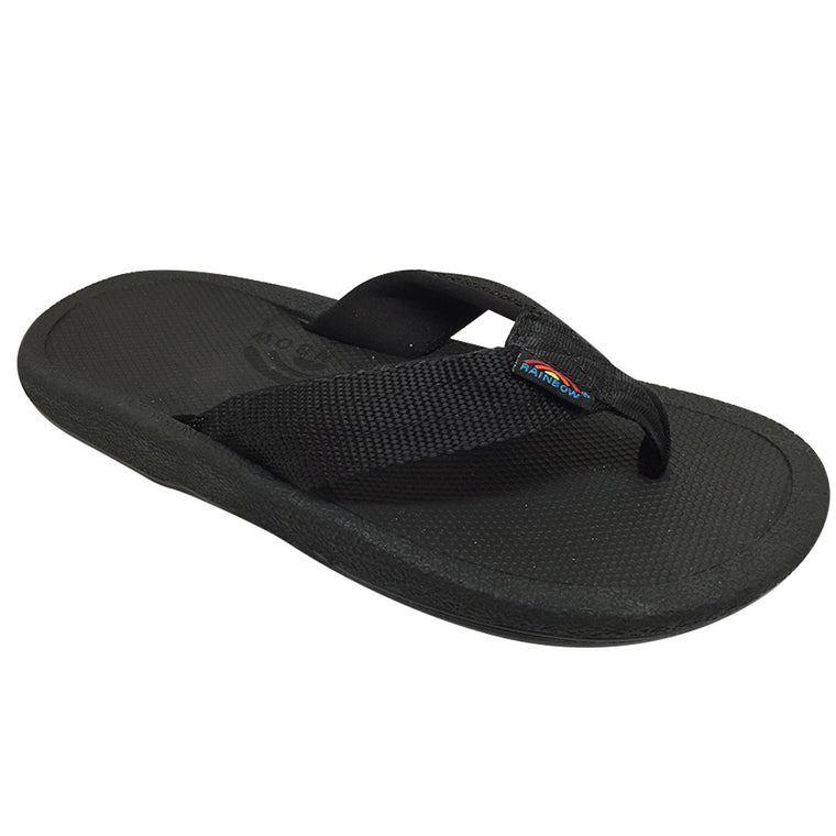 -Footwear-Rainbow Sandals Mens Mariner - Black-Rainbow Sandals-Seaside Surf Shop