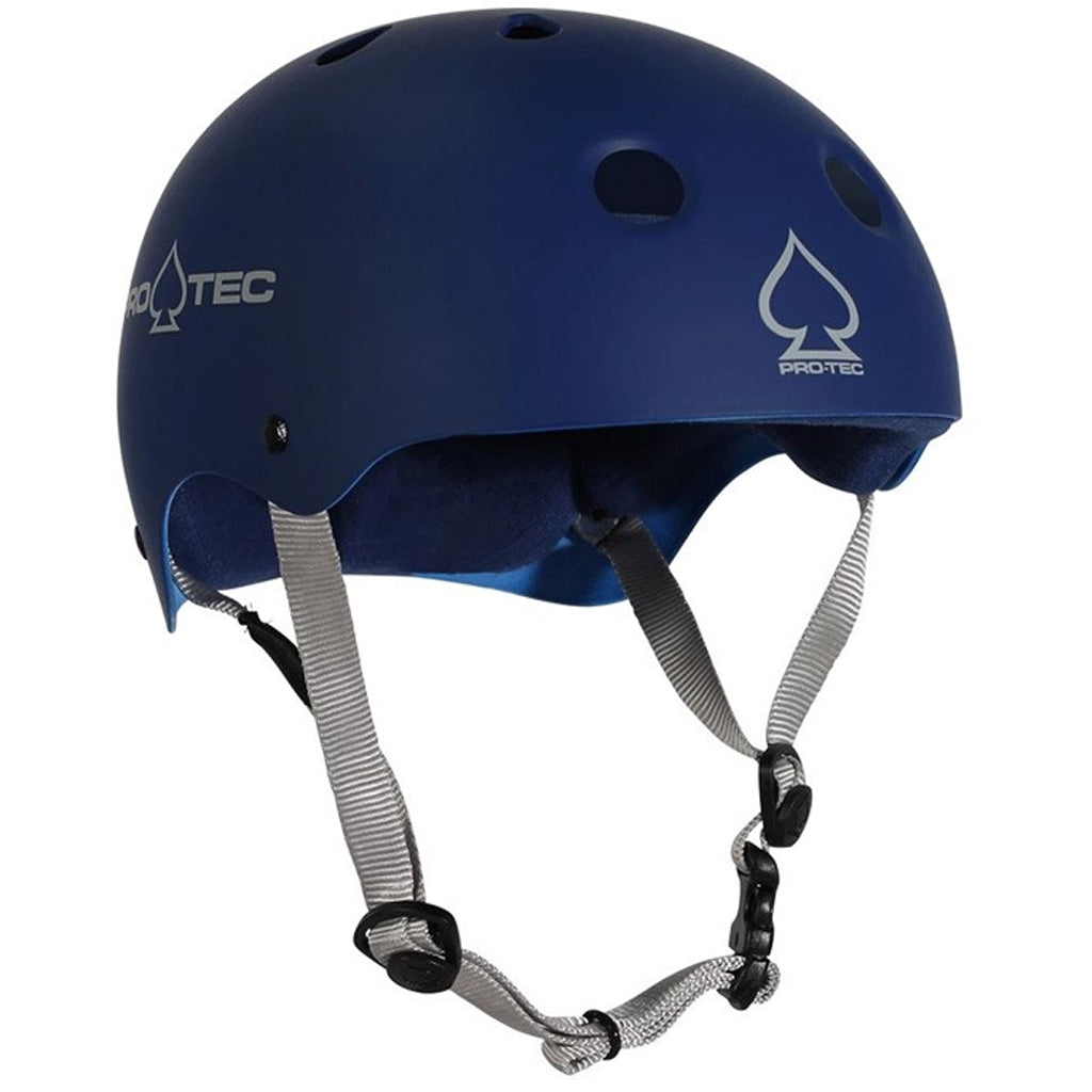 Pro Tec Classic Helmets - Blue Matte - Seaside Surf Shop