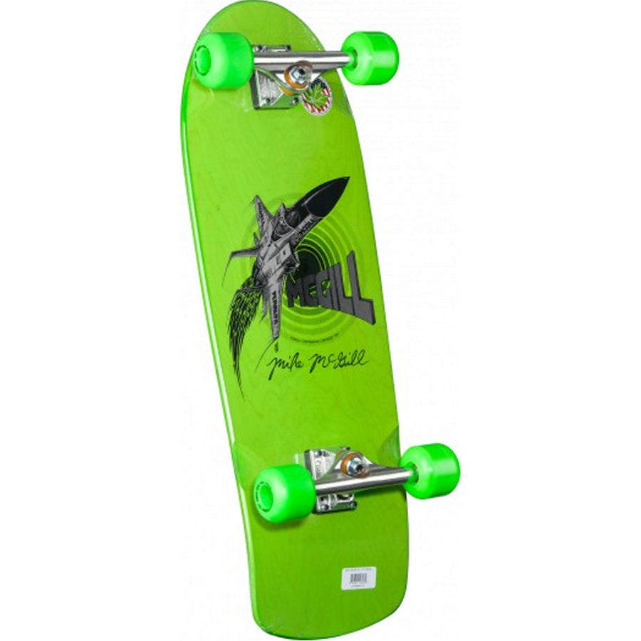 Bones Bridgade Mike McGill Green Jet Fighter - 10.28 x 30.25-Bones-Seaside Surf Shop