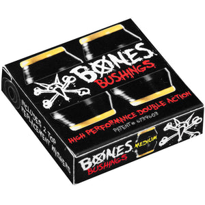 -Skate-Bones Hardcore Bushings - Medium Black-Bones-Seaside Surf Shop