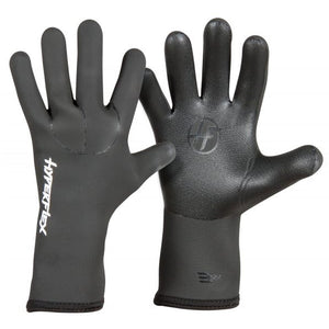 Hyperflex Mesh Skin 3mm Five Finger Glove - Black