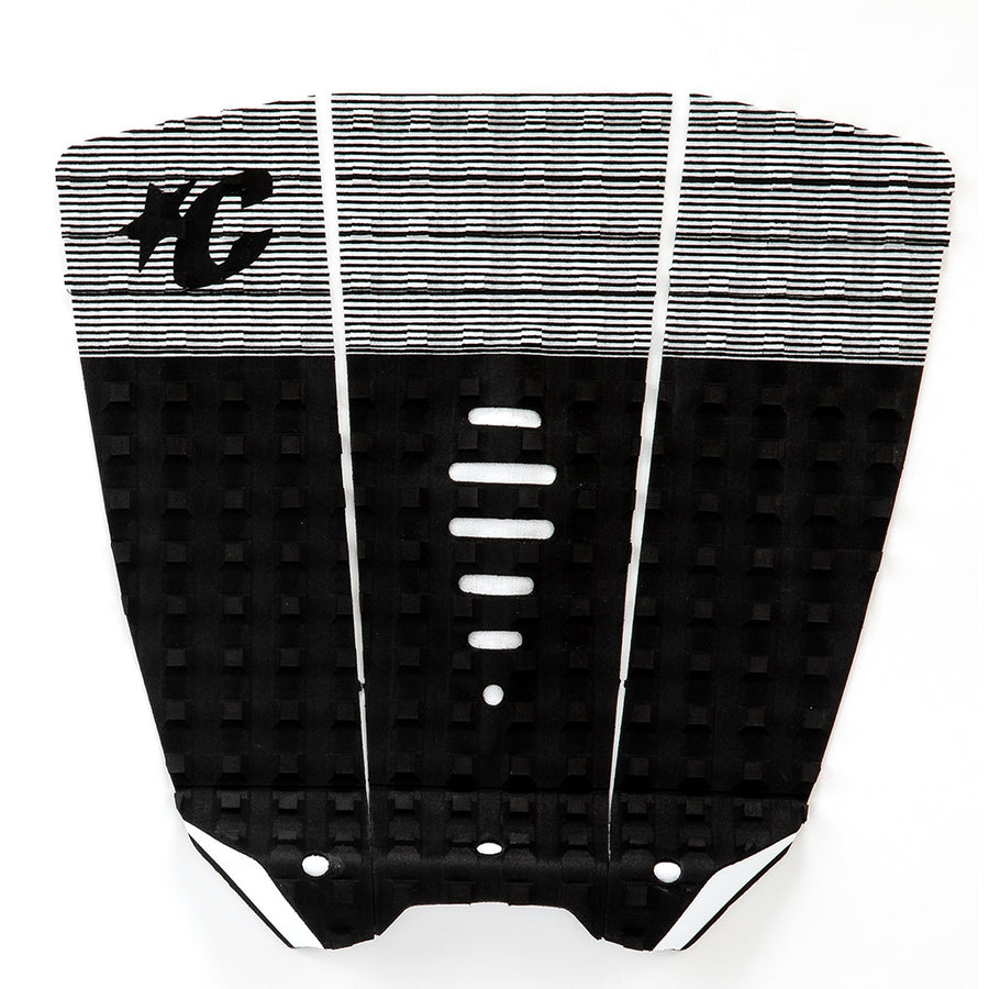 "Creatures Mick ""Eugene"" Fanning Traction Pad - White Stripe Black"