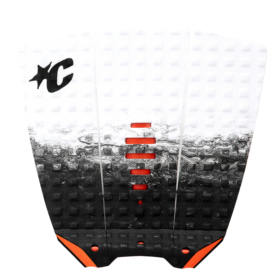 "Creatures Mick ""Eugene"" Fanning Lite Traction Pad - White Fade Orange"