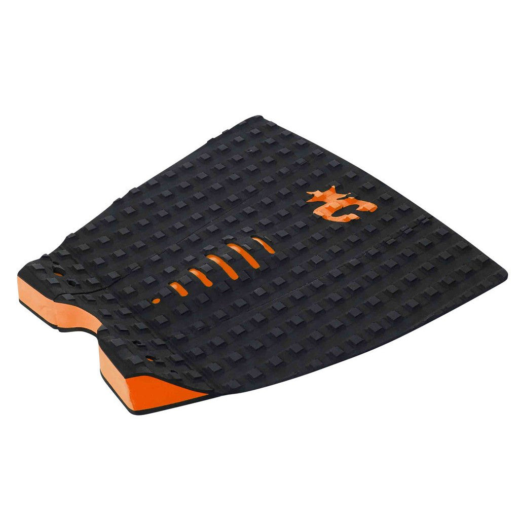-Surf Accessories-Creatures Mick Fanning Traction Pad - Black/Orange-Creatures of Leisure-Seaside Surf Shop