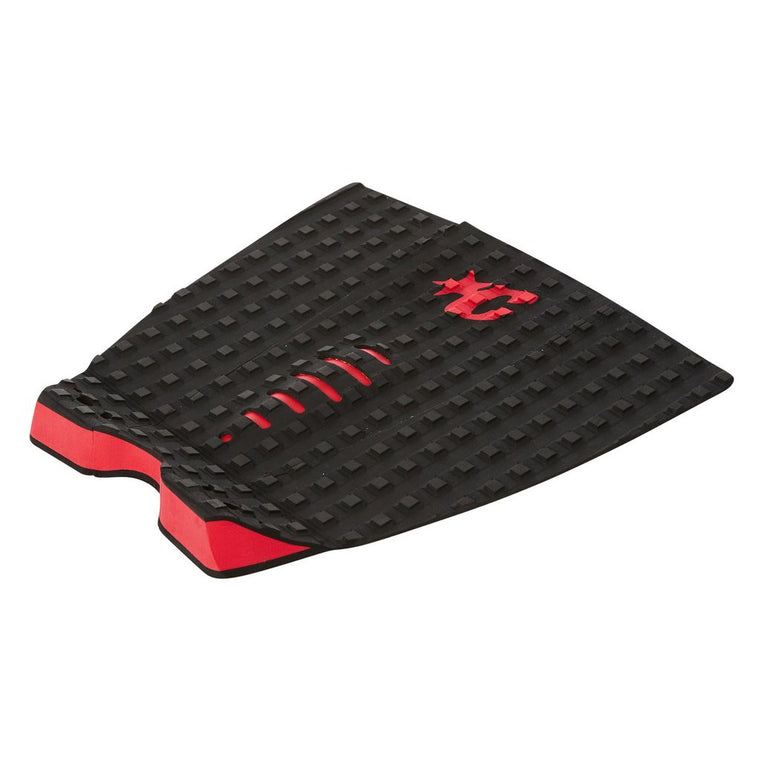 -Surf Accessories-Creatures Mick Fanning Traction Pad - Black/Red-Creatures of Leisure-Seaside Surf Shop