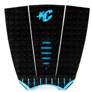 Creatures Mick Fanning Traction Pad - Black/Cyan