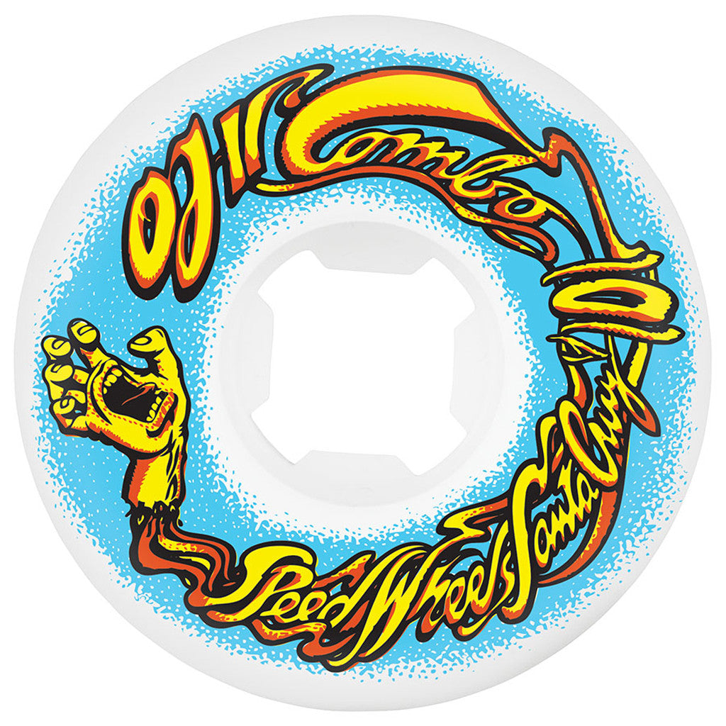 -Skate-OJ II 56mm Elites MINI Combos 101a Wheels - White-OJ Wheels-Seaside Surf Shop