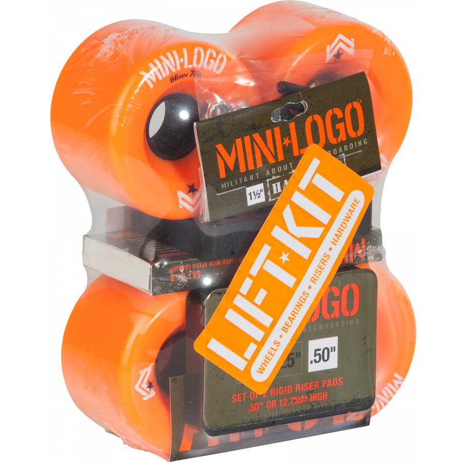 Mini Logo A.W.O.L 66mm Lift Kit - Orange