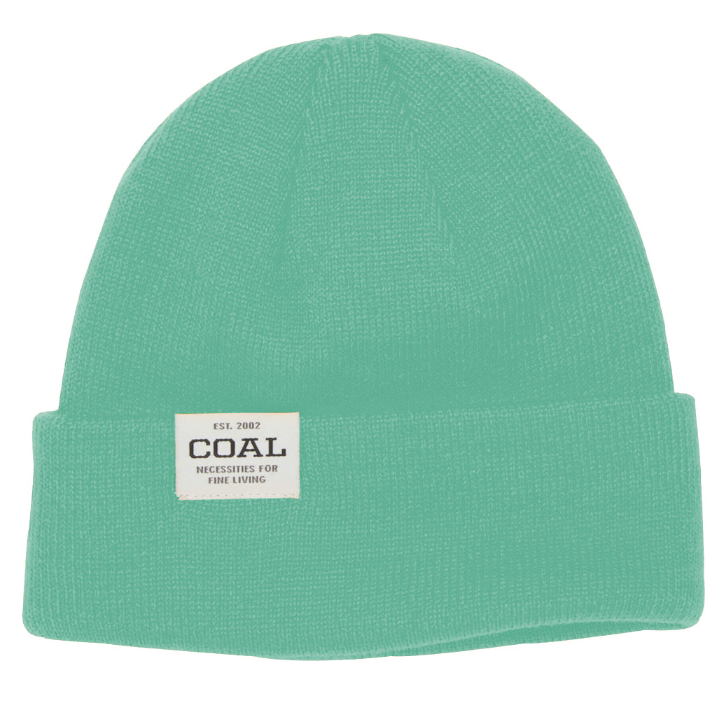 Coal Uniform Low Knit Cuff Beanie - Mint - Seaside Surf Shop