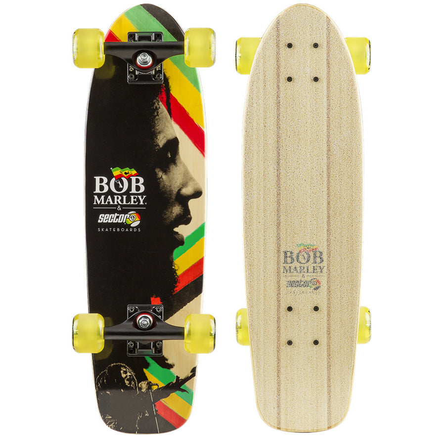 "-Skate-Sector 9 Natty Dread Complete - 26.5""-Sector 9-Seaside Surf Shop"
