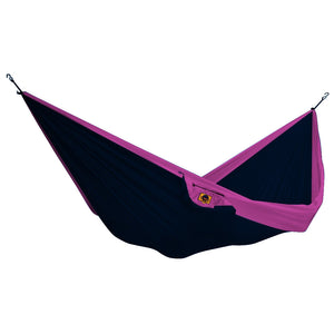 -Outdoor-Ticket to the Moon Single Hammock - Navy/Pink-Ticket to the Moon-Seaside Surf Shop