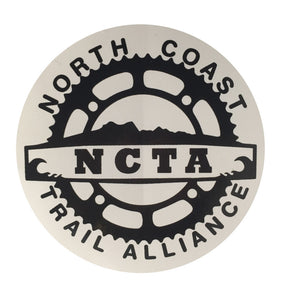 NCTA Sticker Fundraiser Edition, Stickers, North Coast Trail Alliance, North Coast Trail Alliance, Only a dollar for stickers to raise money for the pump track in seaside. Support the North Coast Trail Alliance!