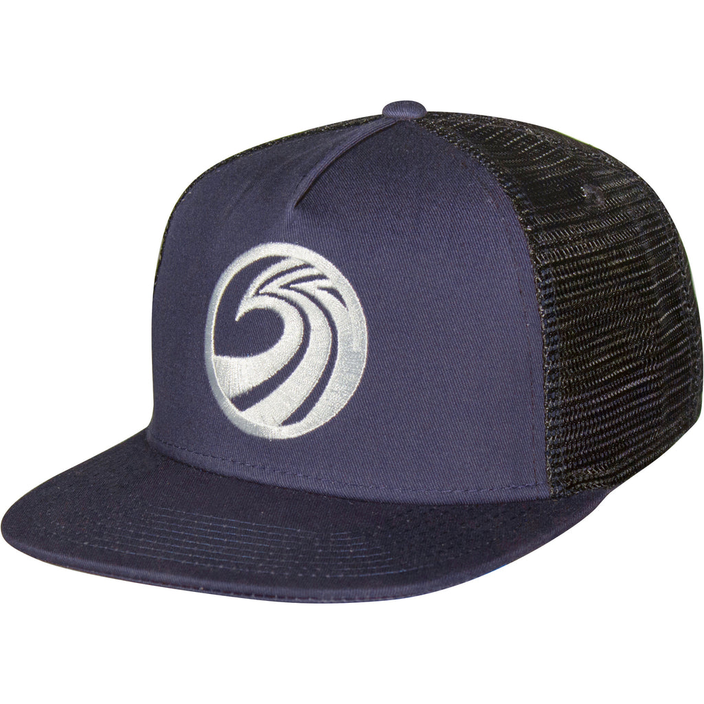 Seaside Surf Shop New Wave Mesh Cap - Navy - Seaside Surf Shop