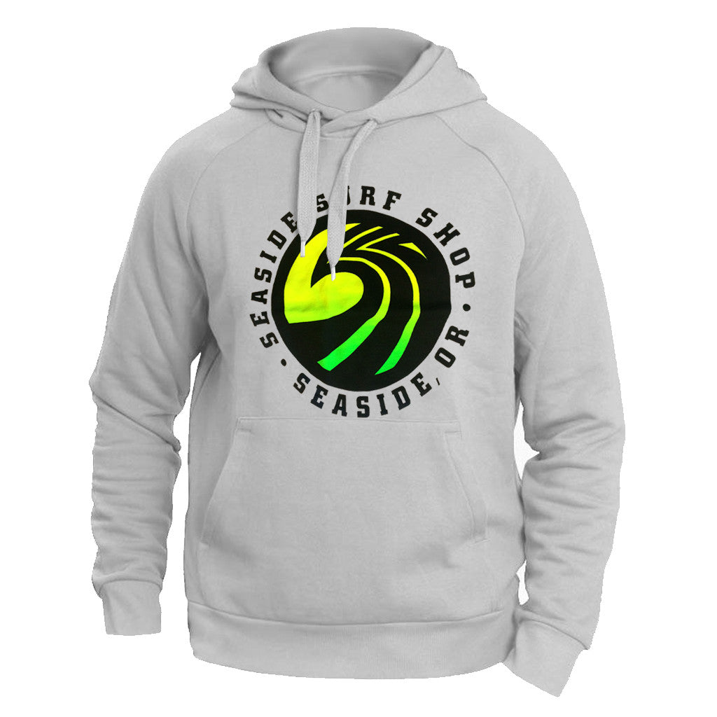 Seaside Surf Shop New Wave Fade Hoody - Seaside Surf Shop